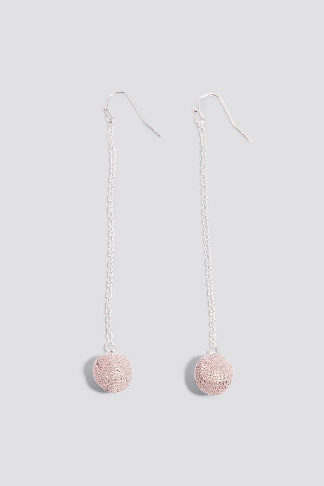 Small Sparkling Globe Drop Earrings NA-KD.COM