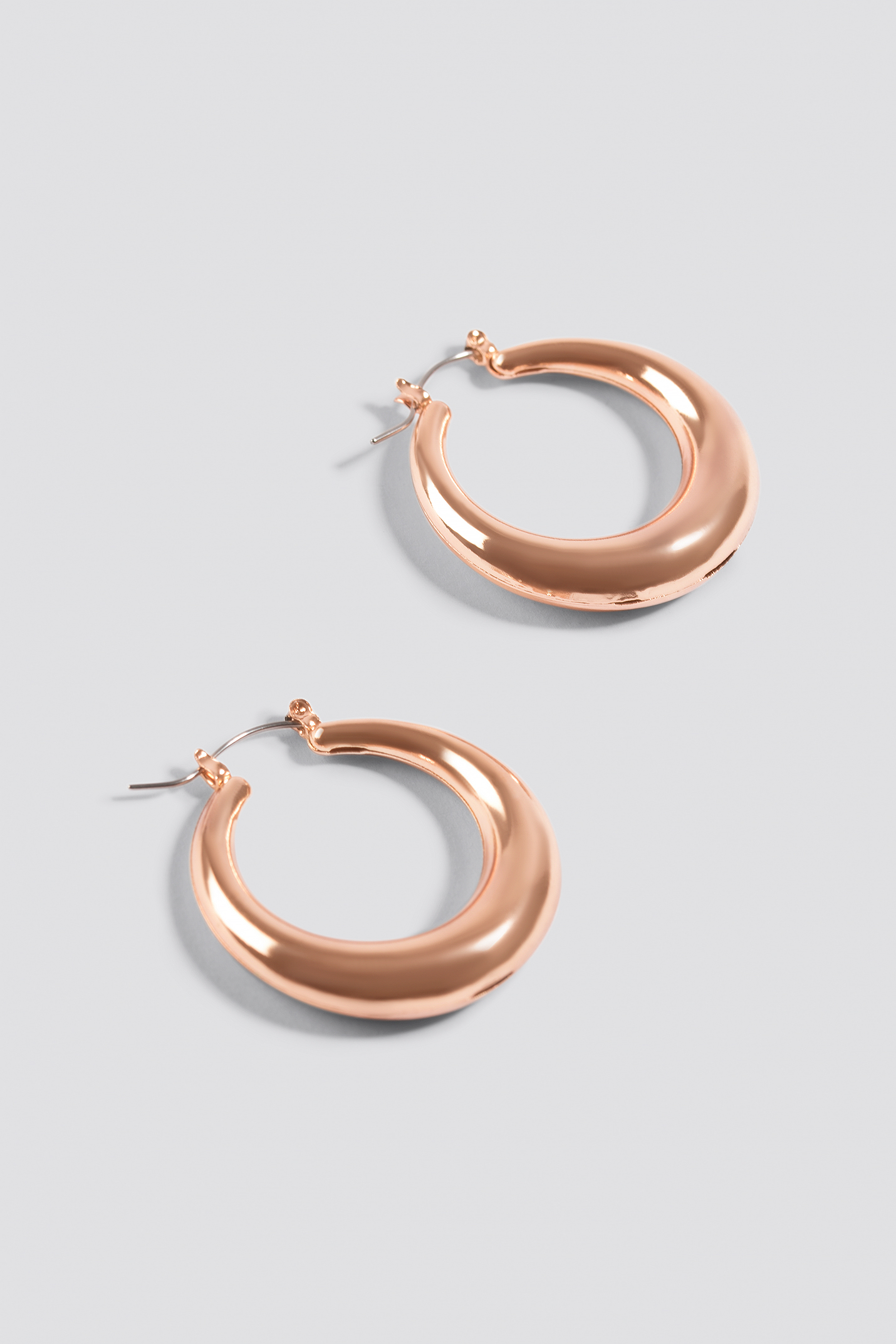 Small Thick Oval Hoops NA-KD.COM