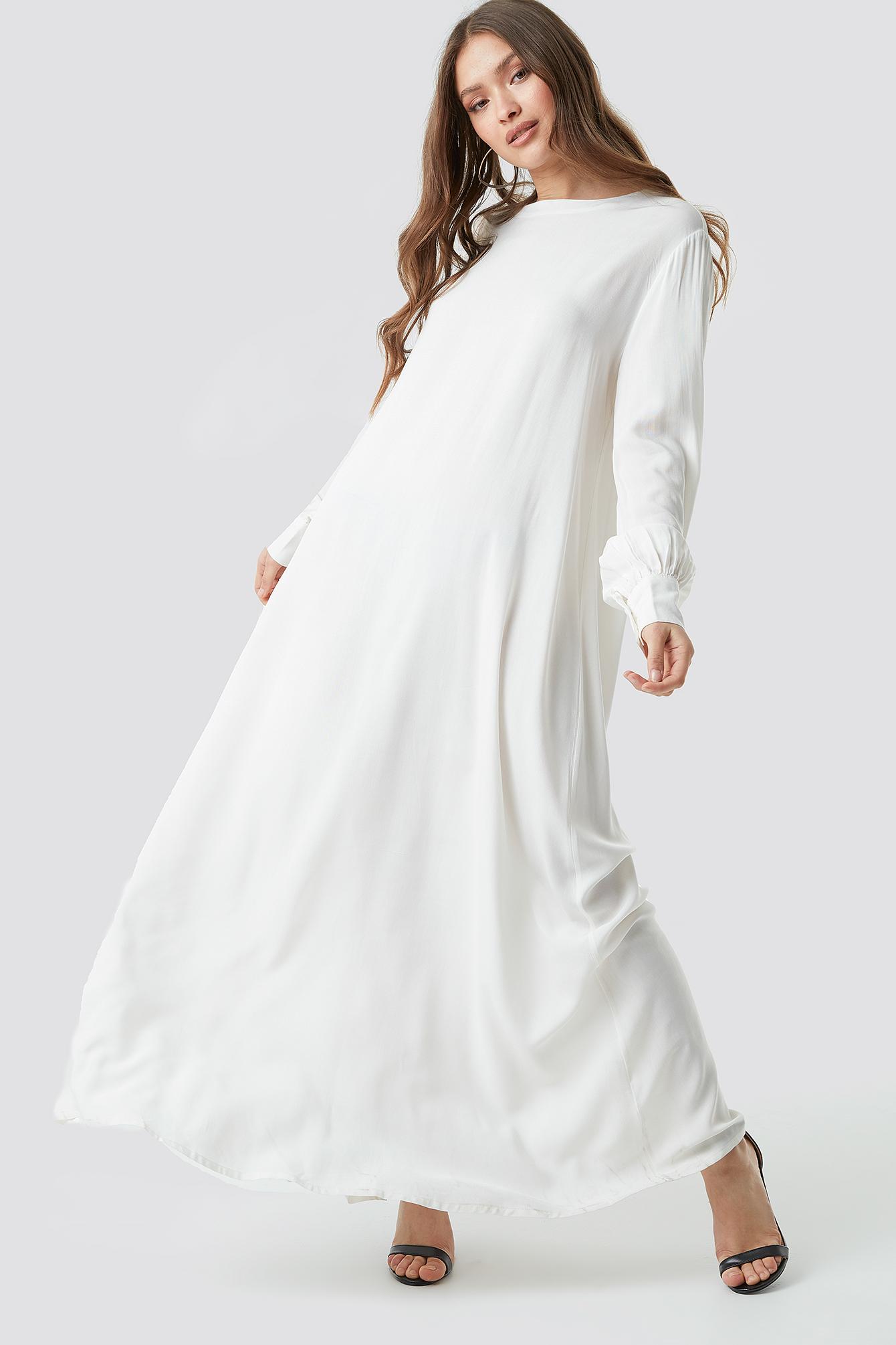 Smock Maxi Dress NA-KD.COM
