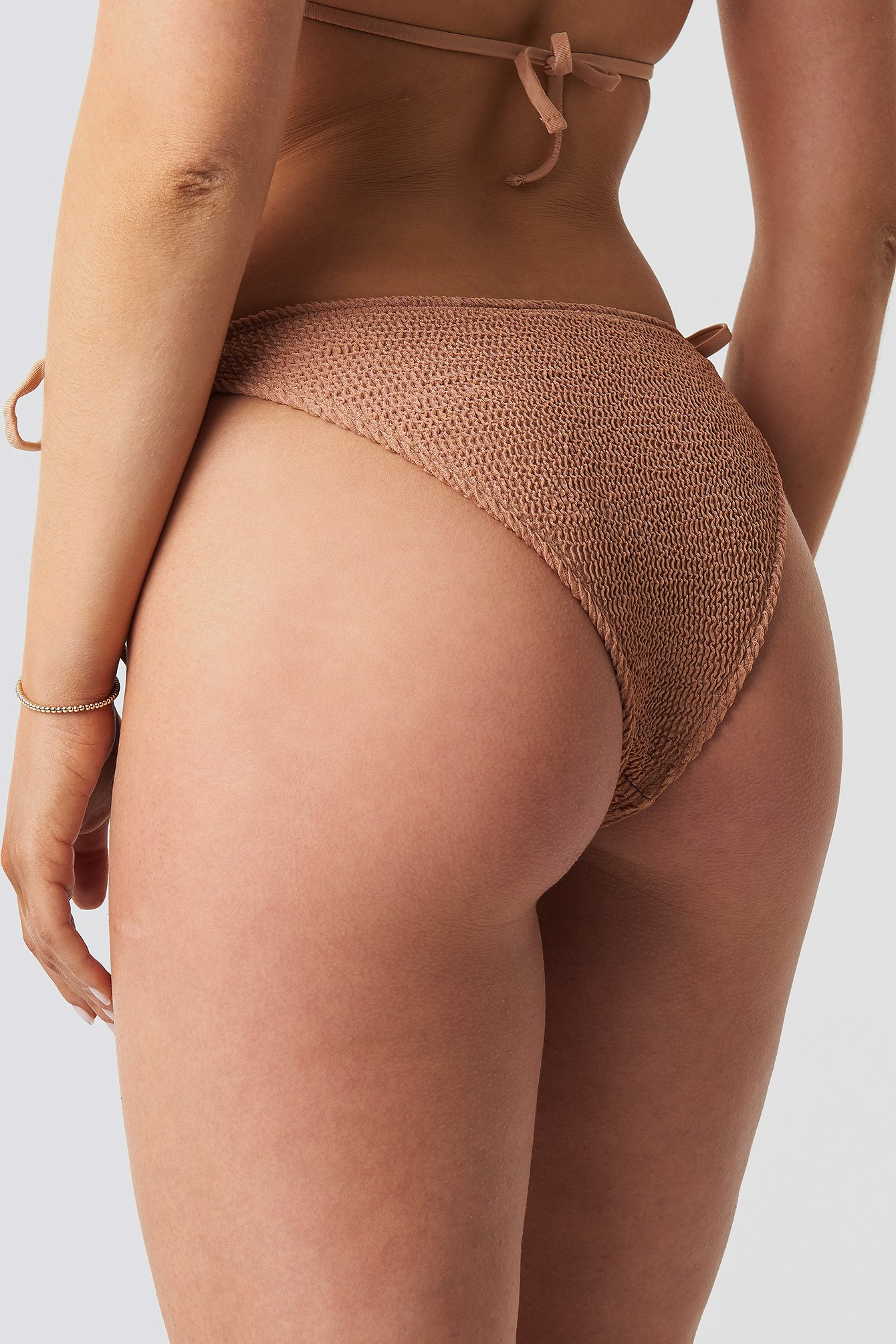 Smocked Triangle Bikini Panty NA-KD.COM