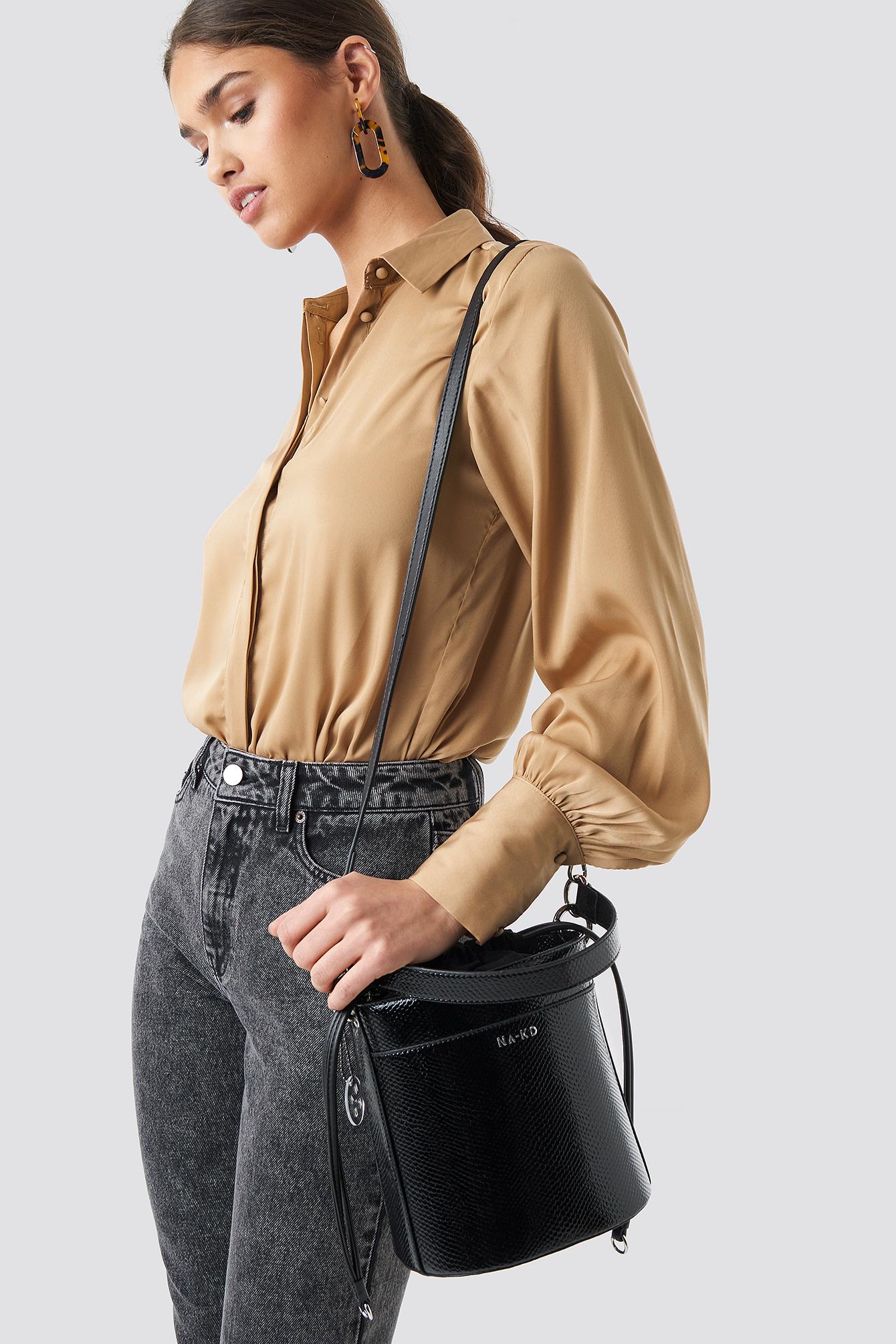 Snake Bucket Bag NA-KD.COM