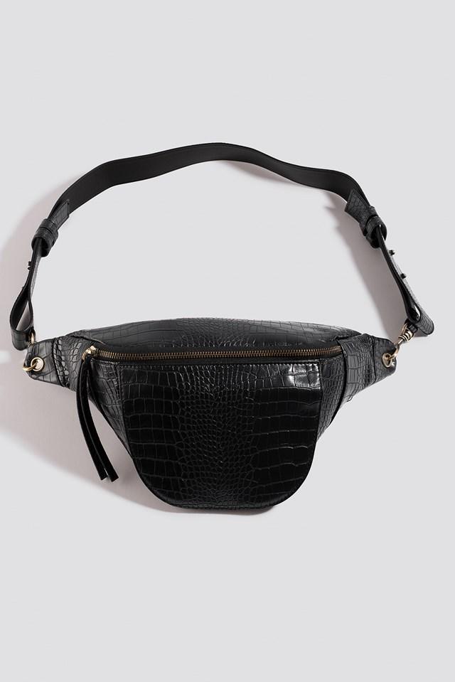 Snake Bum Bag Black