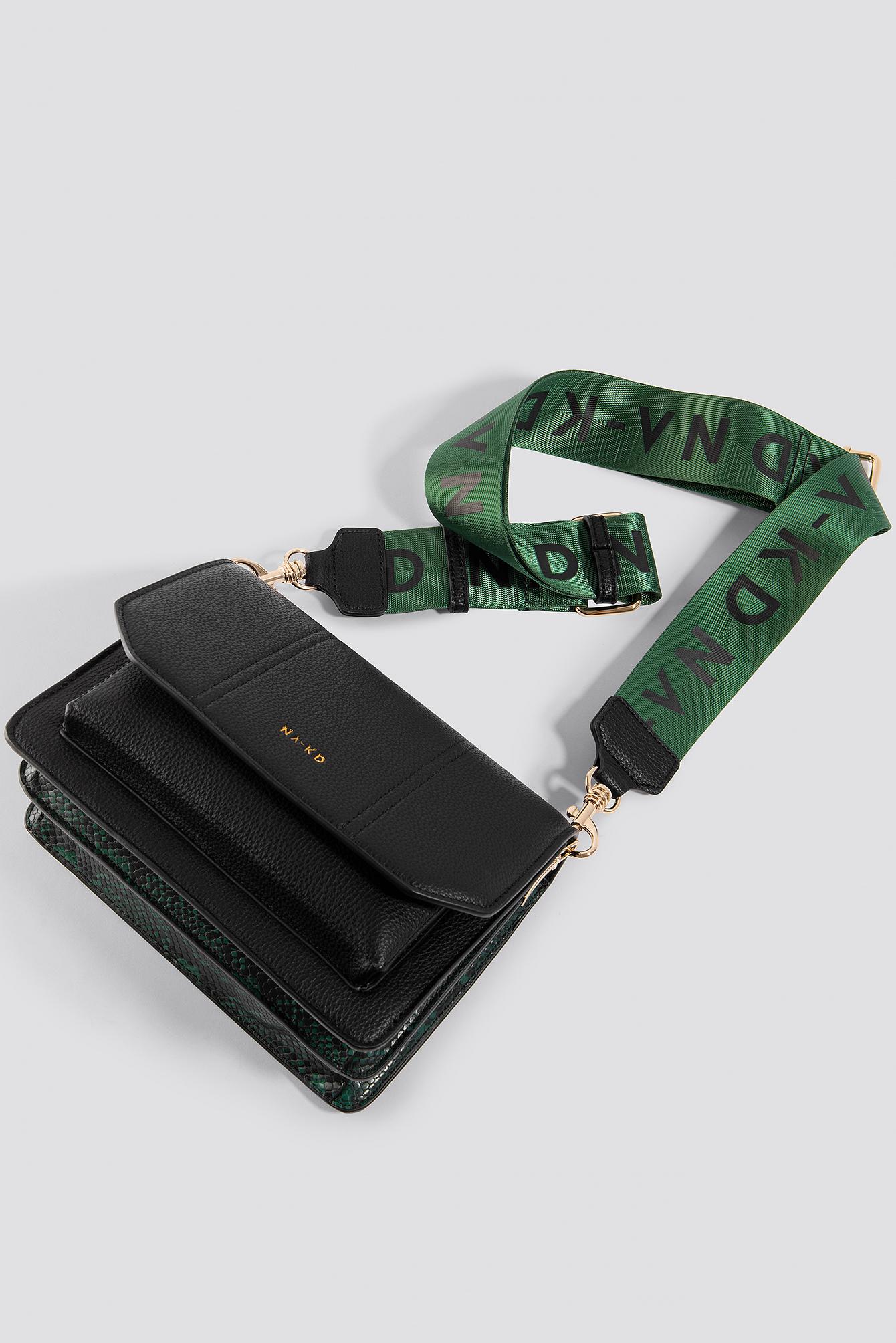 Snake Detailed Crossover Bag NA-KD.COM