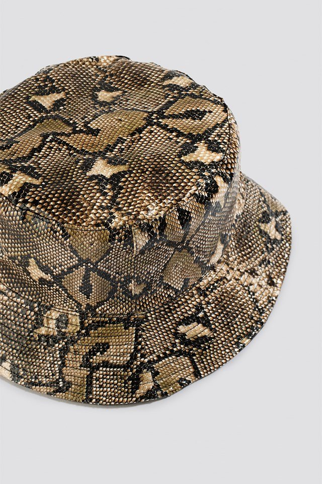 Snake Look Bucket Hat Snake
