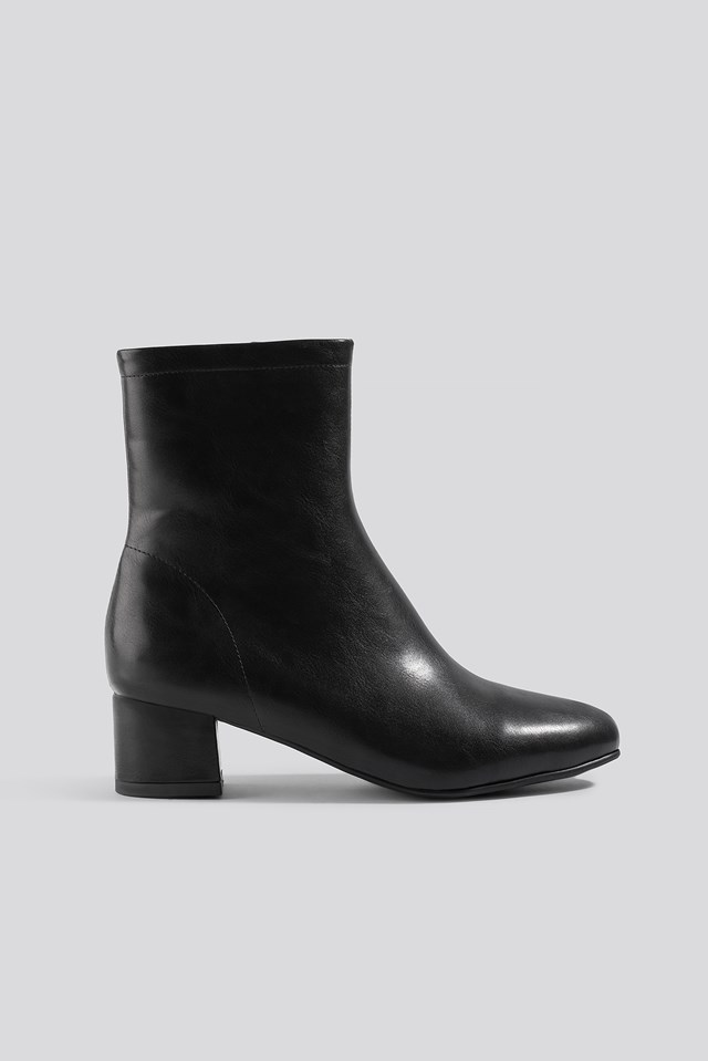 Soft Ankle Boots Black