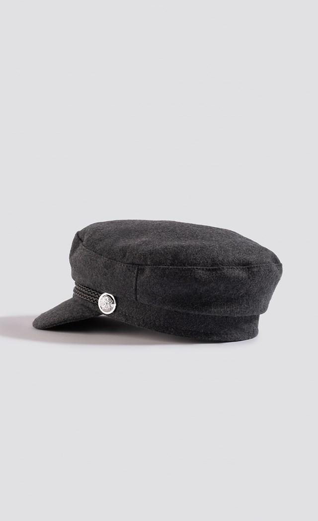 Soft Captains Cap Grey