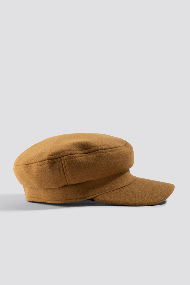 Soft Captains Cap Cognac