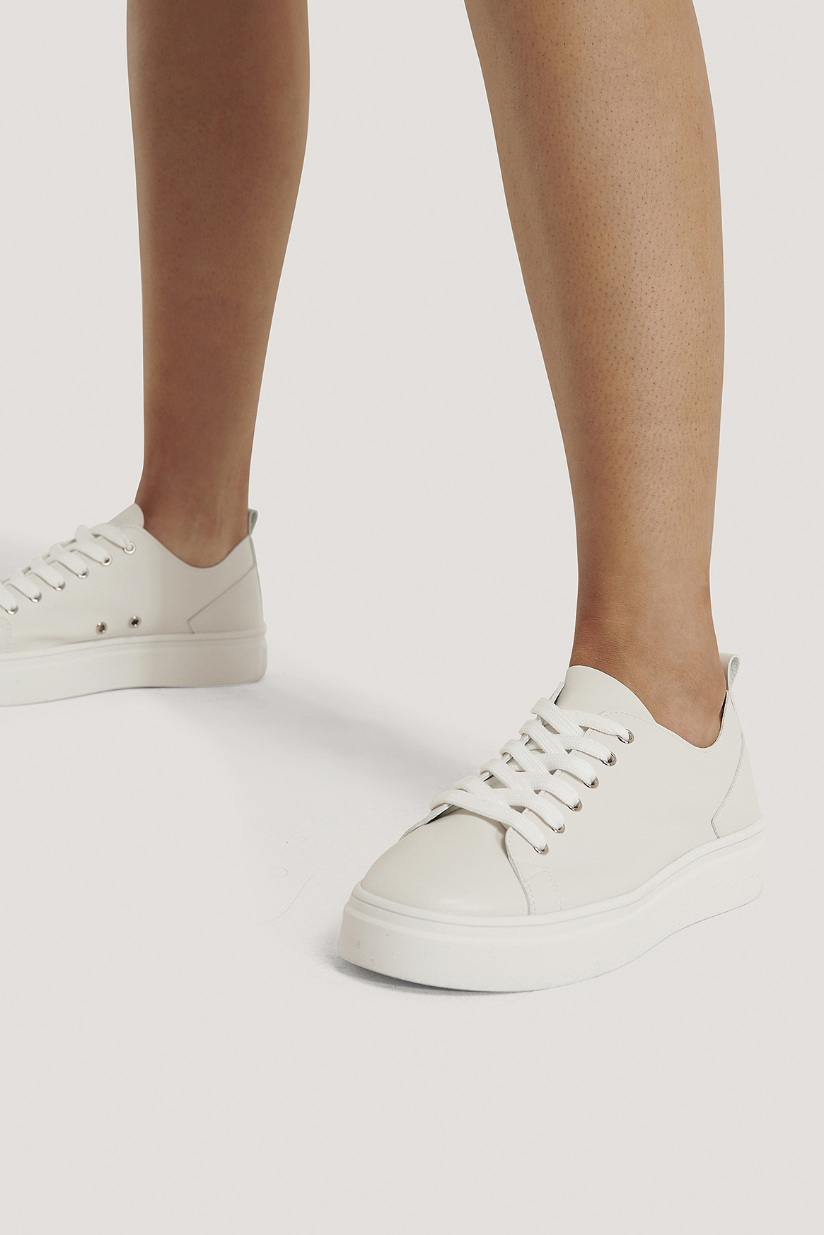 White Basic Sneakers