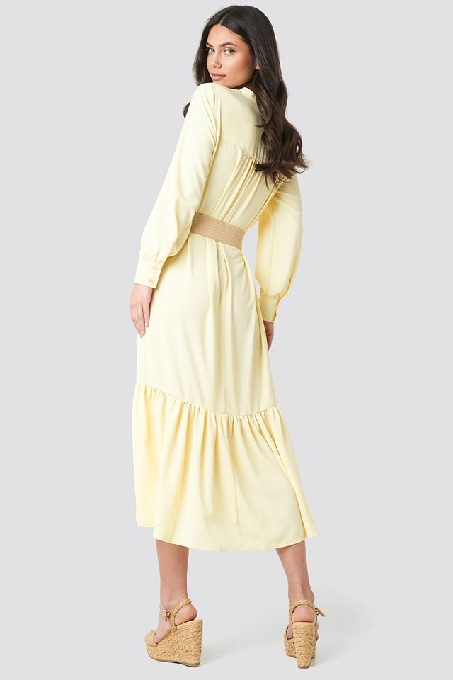 Solid Maxi Dress NA-KD.COM