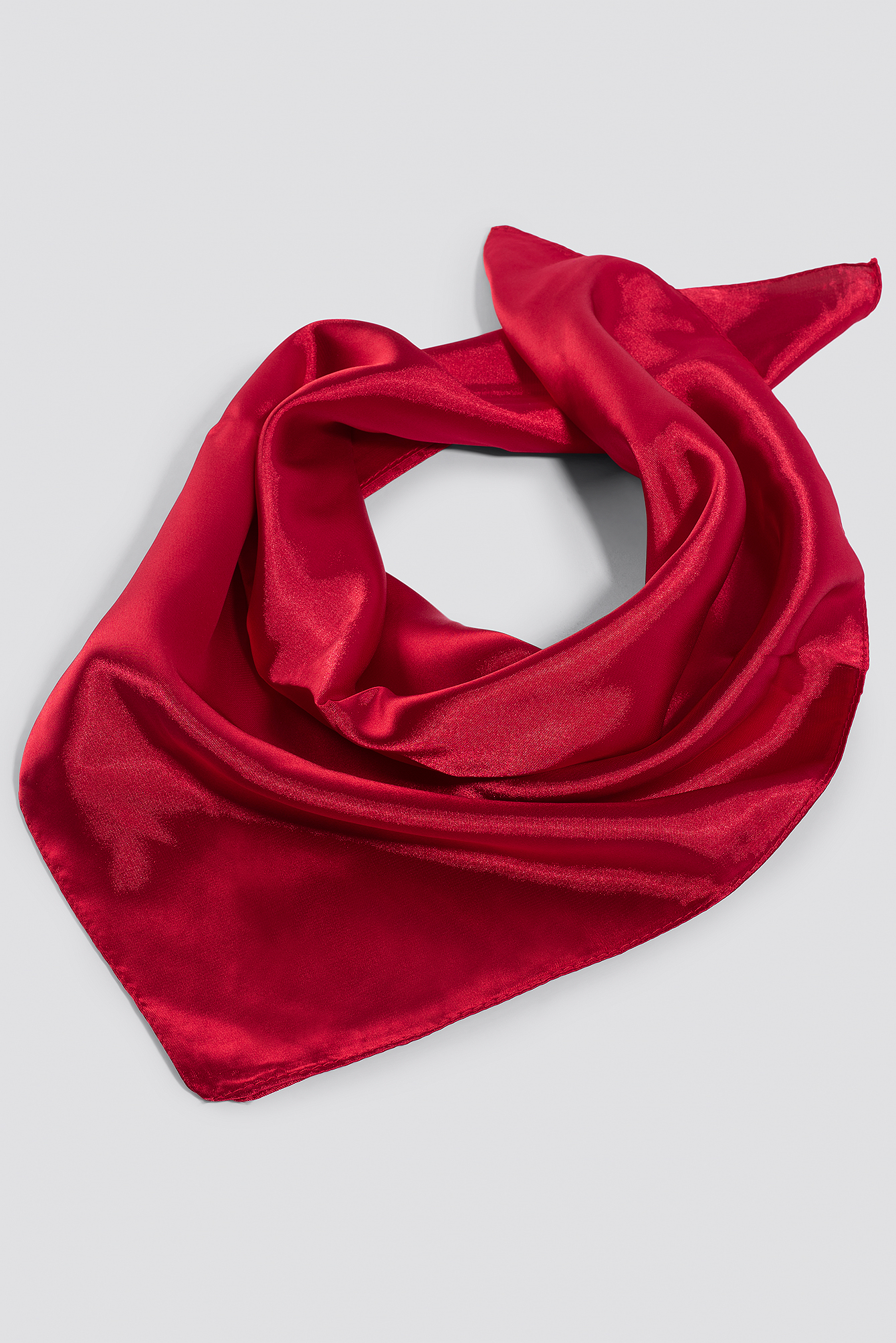 Solid Satin Scarf NA-KD.COM