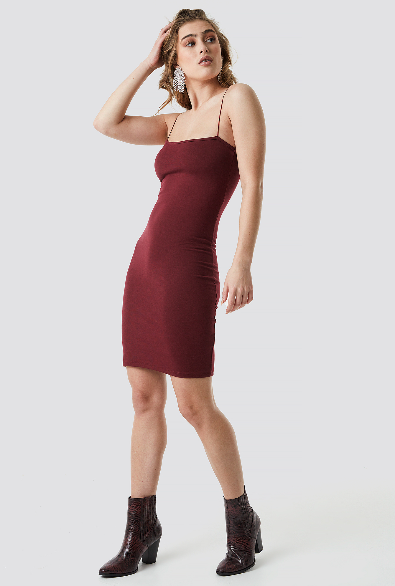 Spaghetti Strap Dress NA-KD.COM