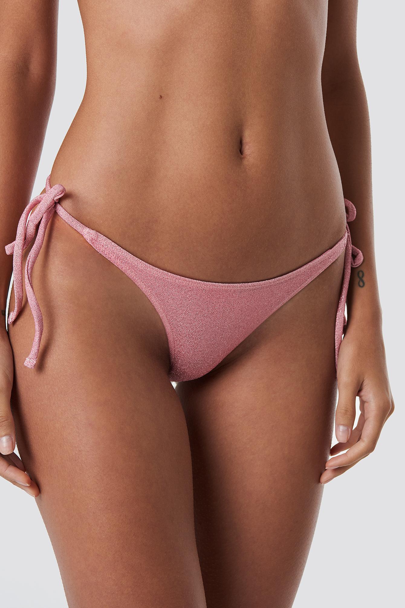 Dół bikini Sparkle Triangle NA-KD.COM