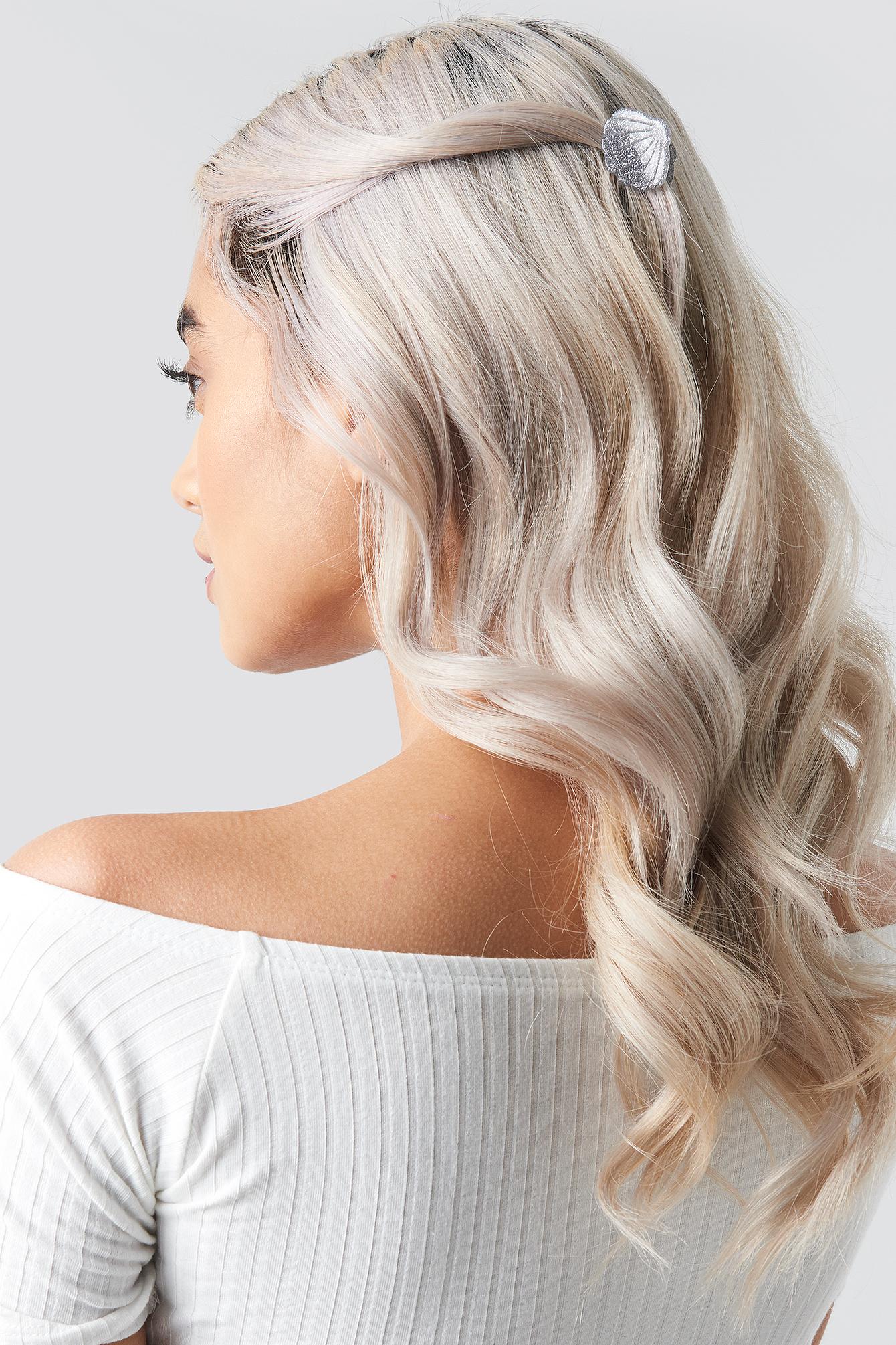 Sparkling Mini Shell Hair Clips (3-Pack) NA-KD.COM
