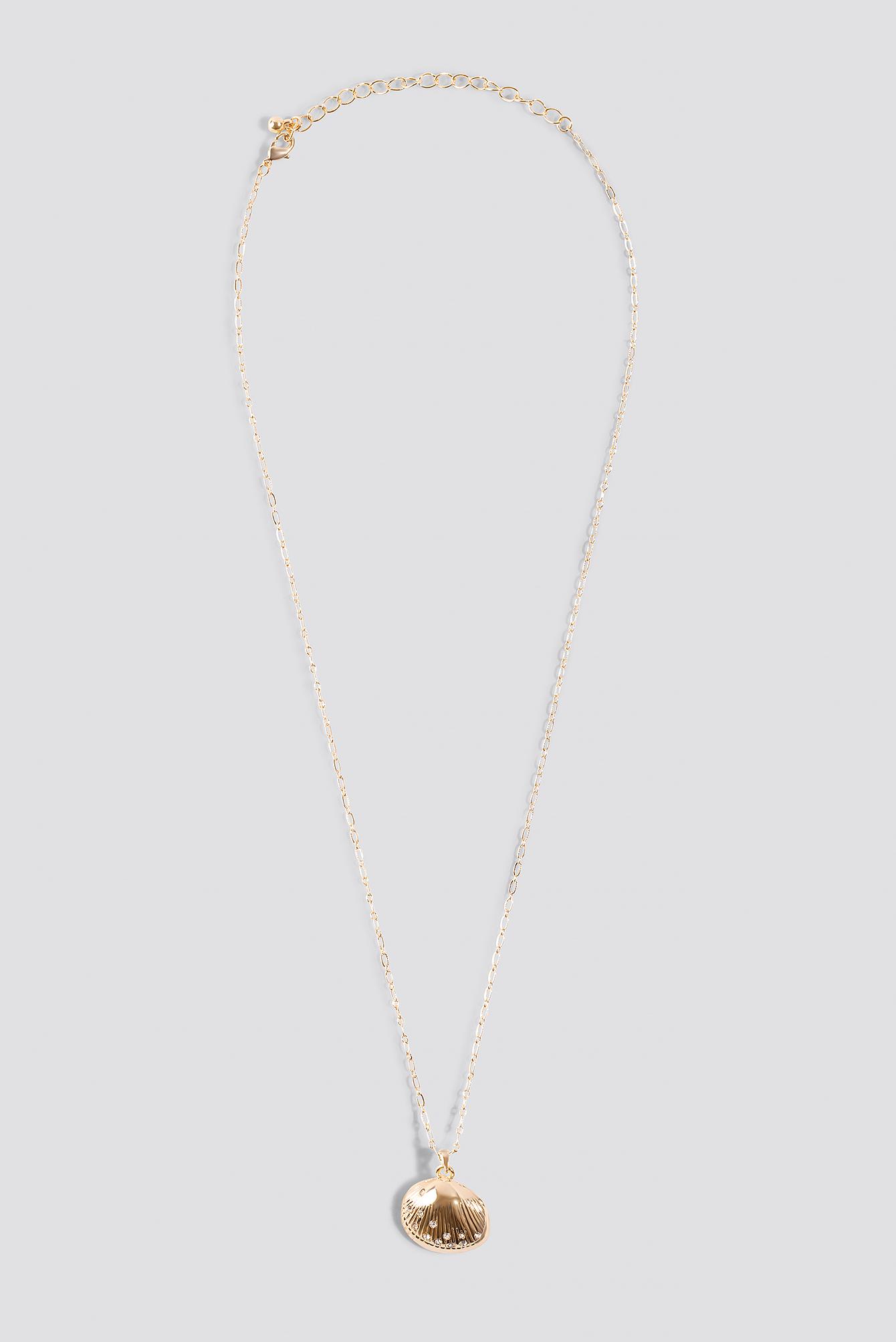 Sparkling Shell Necklace NA-KD.COM