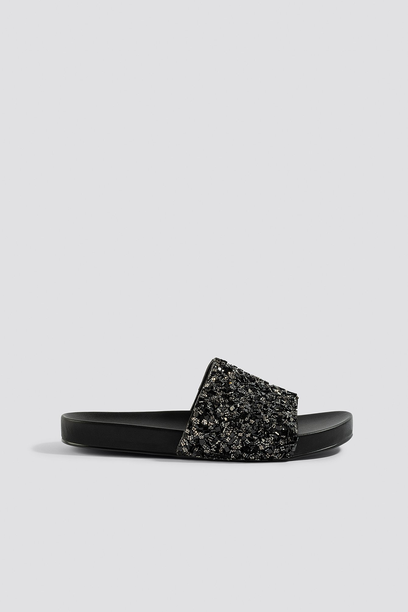 Sparkling Slippers Black | na-kd.com