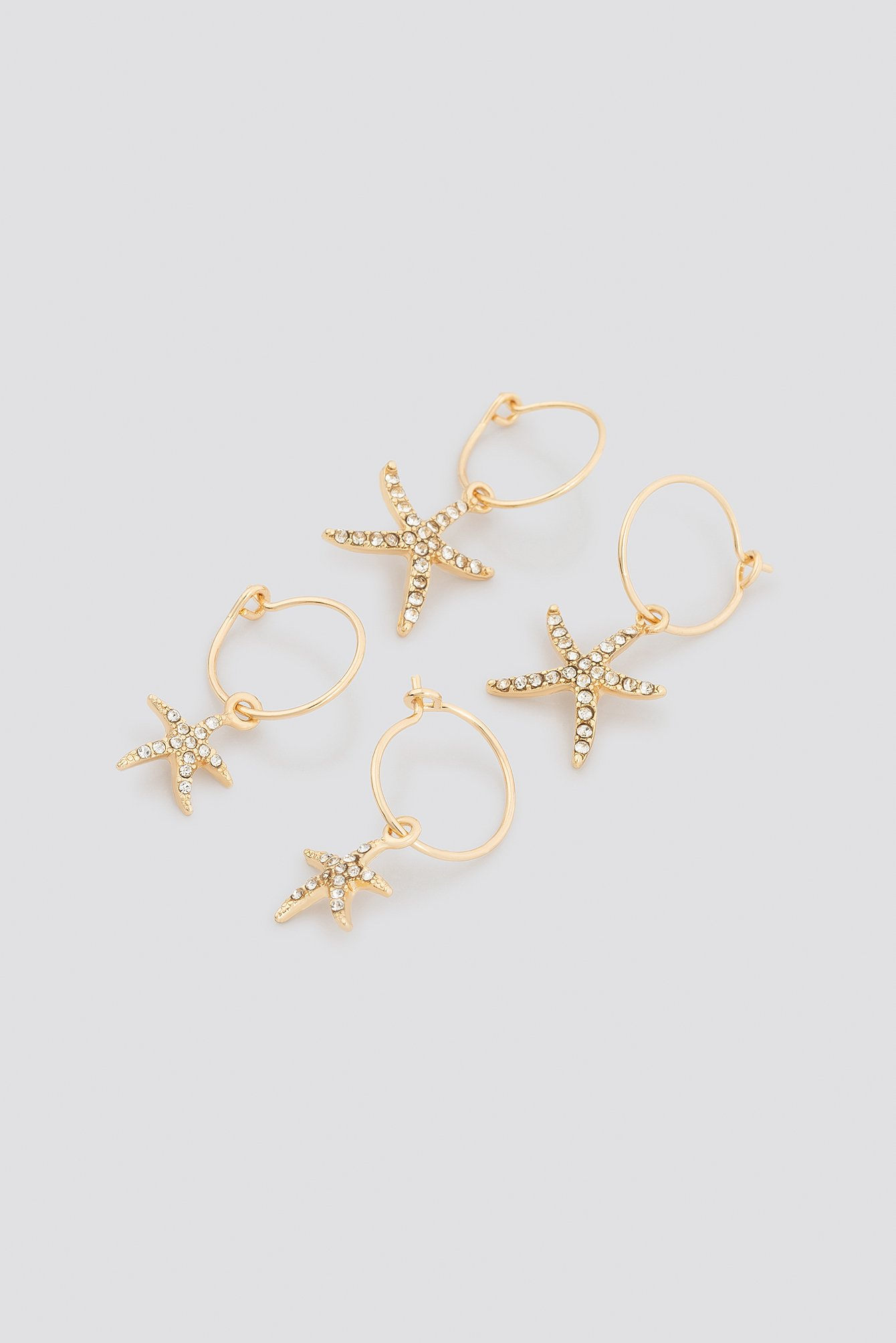 Sparkling Starfish Mini Hoops NA-KD.COM