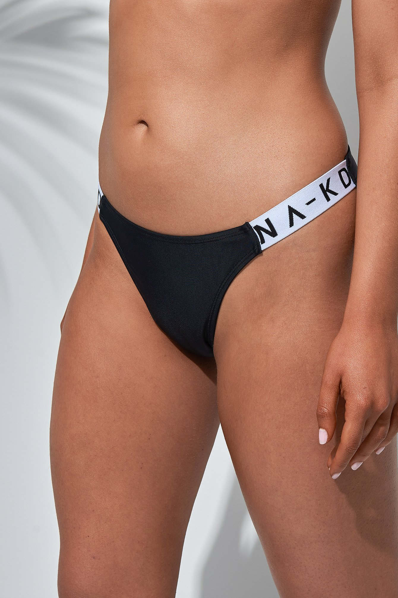 Sporty Logo Side Bikini Briefs NA-KD.COM
