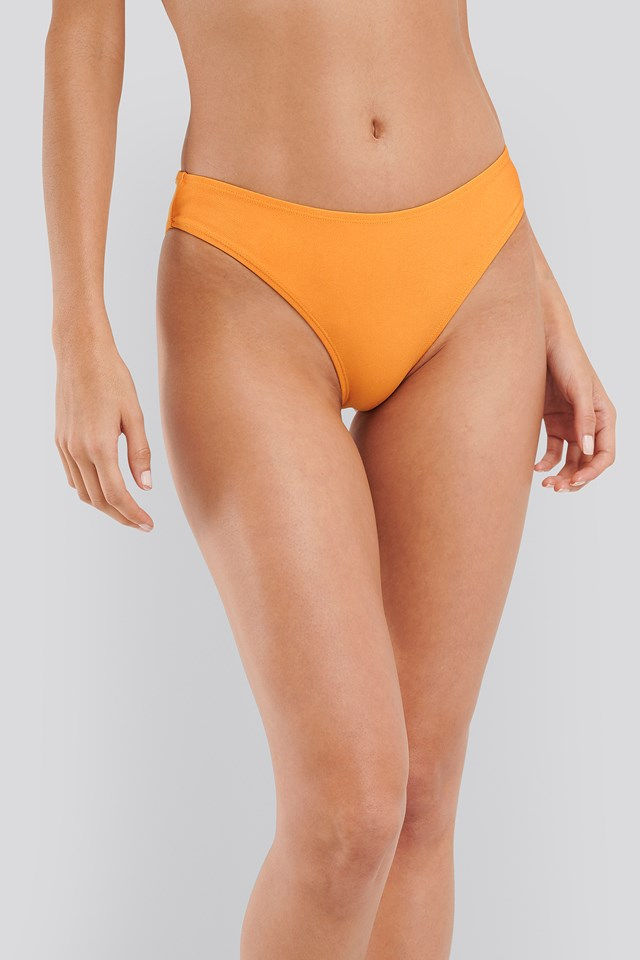 Sporty Bikini Briefs Citrus
