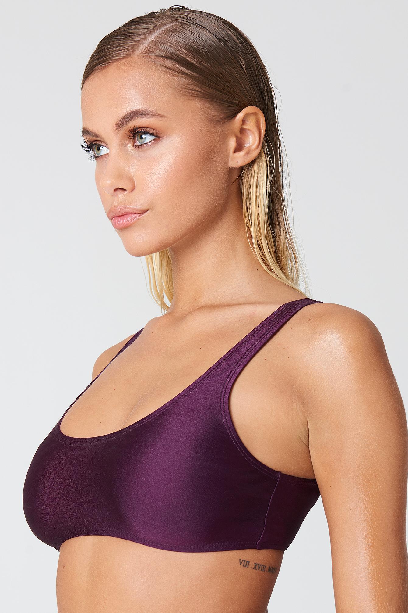 Sporty Bikini Top NA-KD.COM