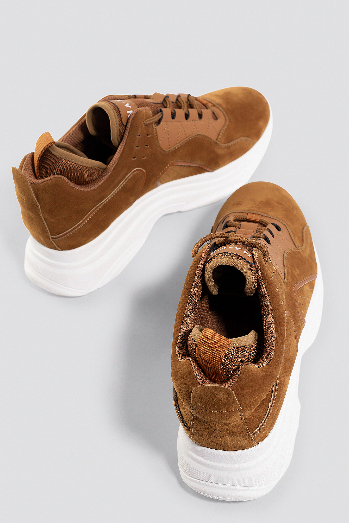 Sporty Faux Suede Sneakers NA-KD.COM