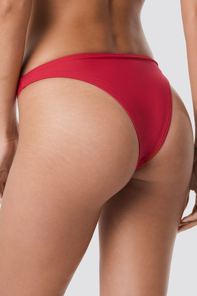 Sporty High Cut Panty Cherry Red