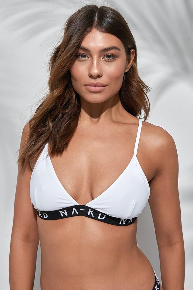Sporty Logo Triangle Bikini NA-KD.COM