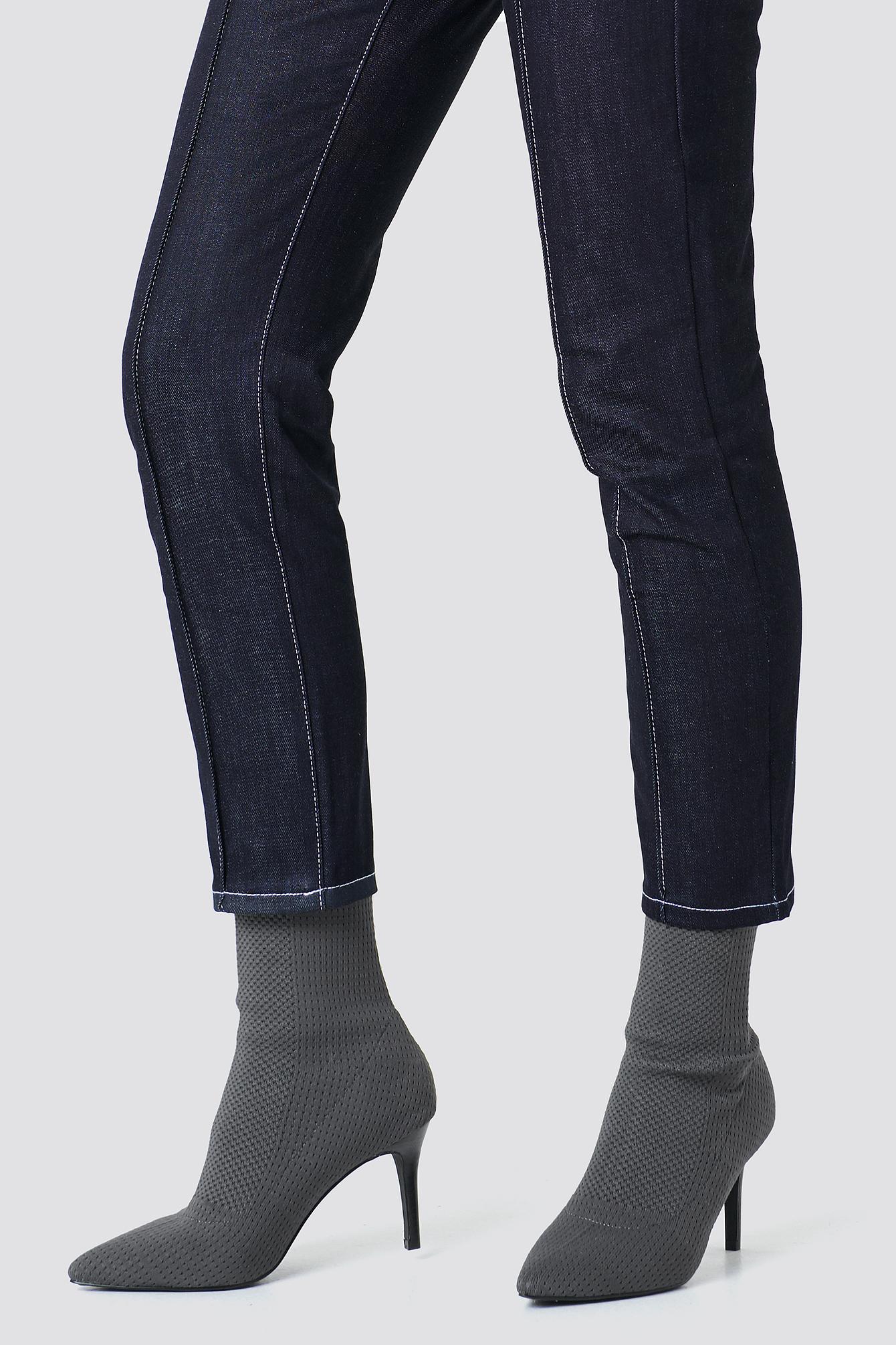 Sporty Sock Boots NA-KD.COM