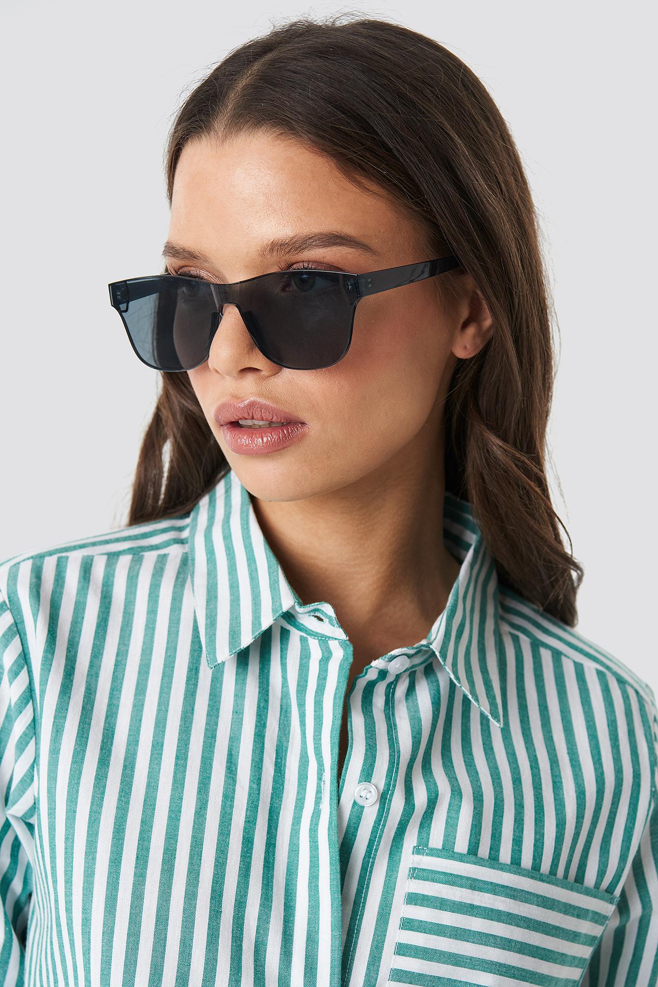 Square Monolens Sunglasses NA-KD.COM