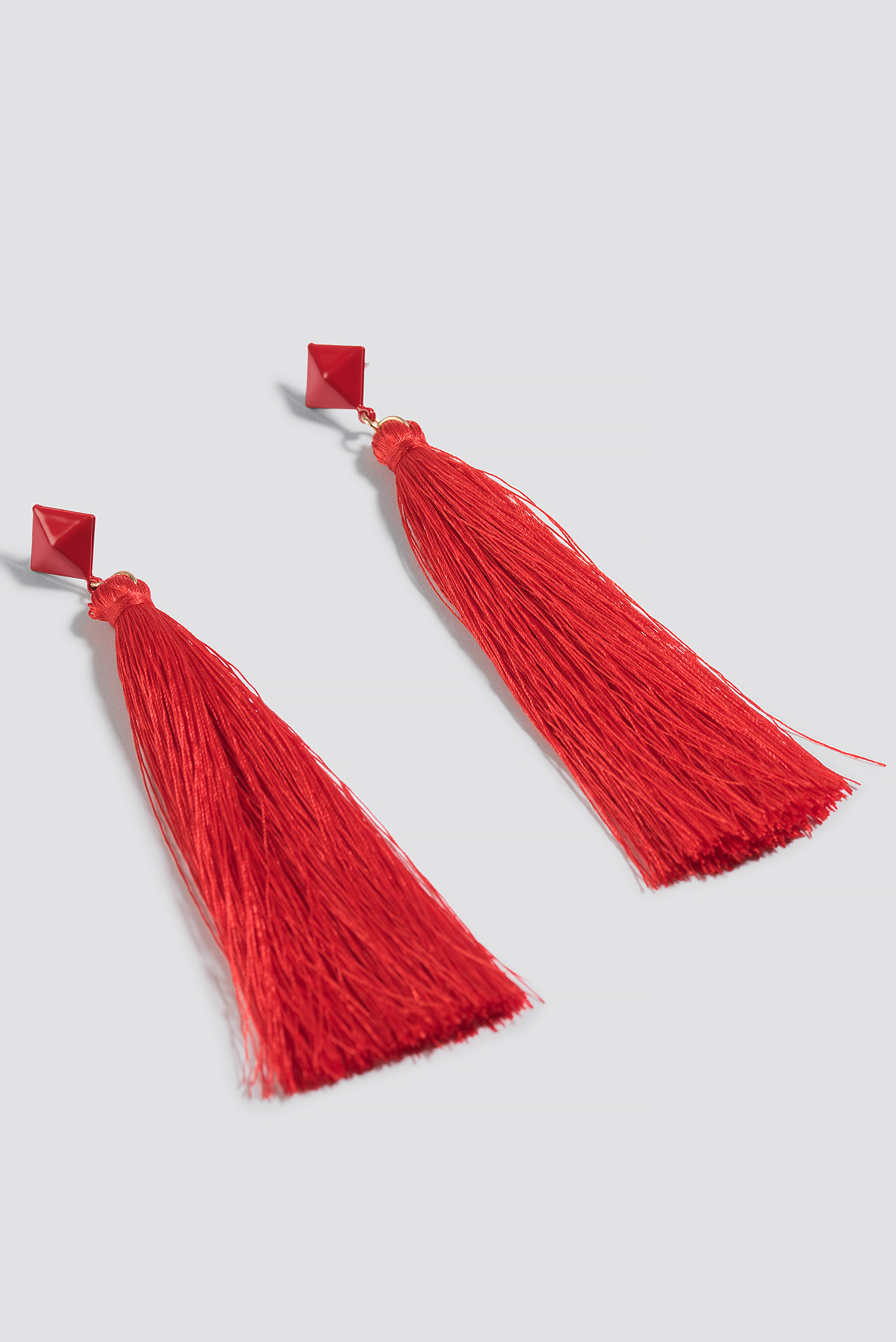 Square Top Tassel Earring NA-KD.COM