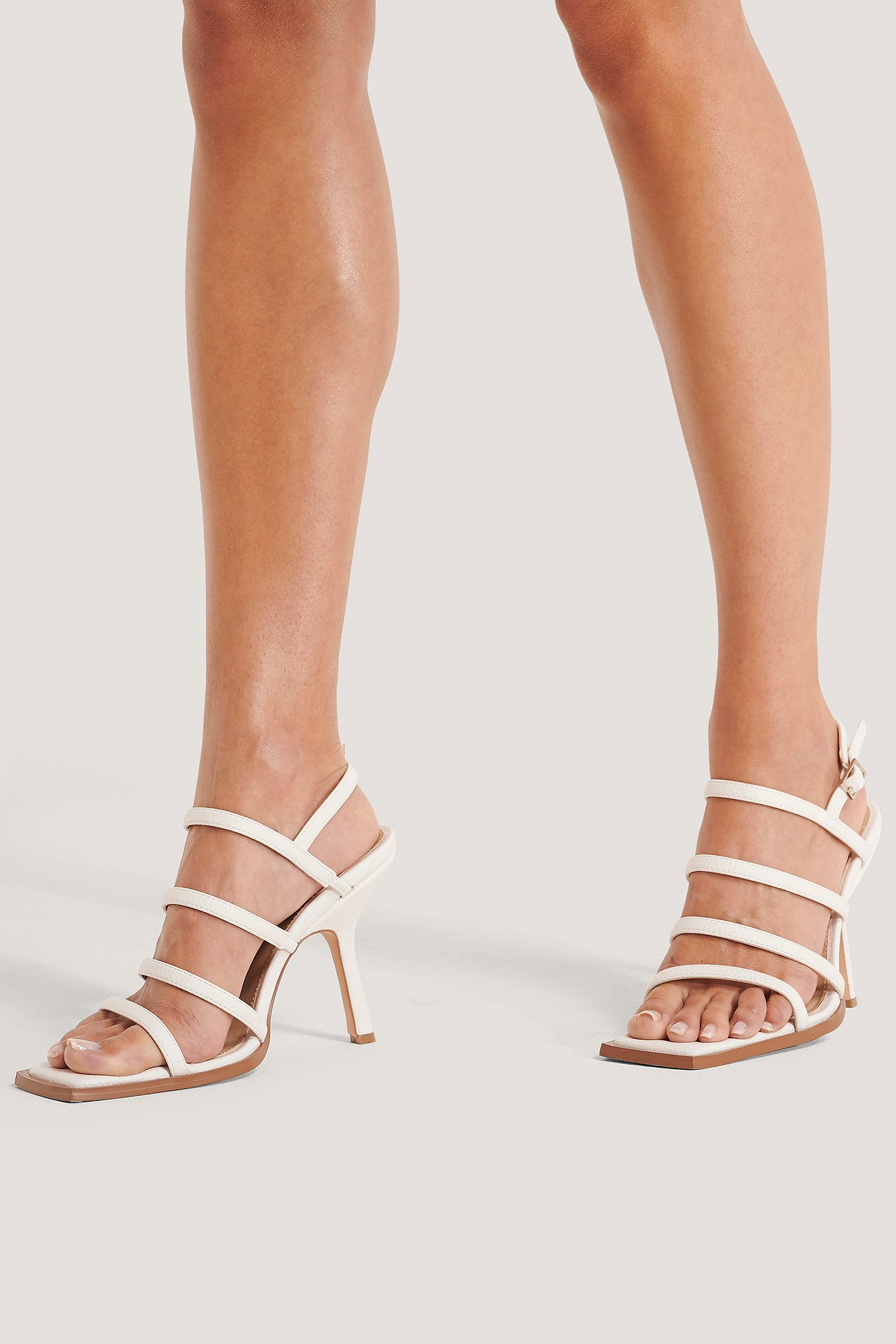 na-kd shoes -  Sandalen - White