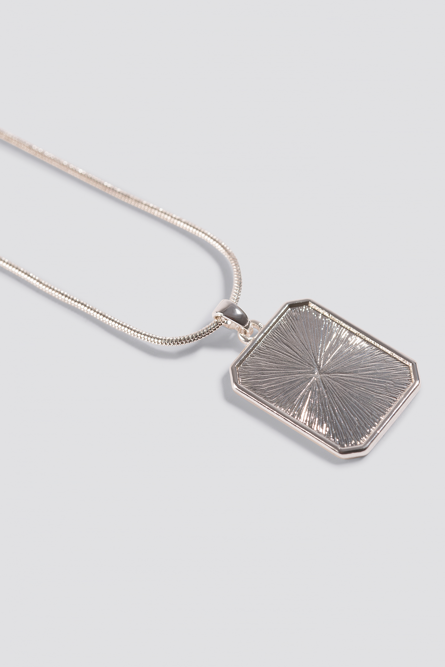 Squared Plate Necklace NA-KD.COM