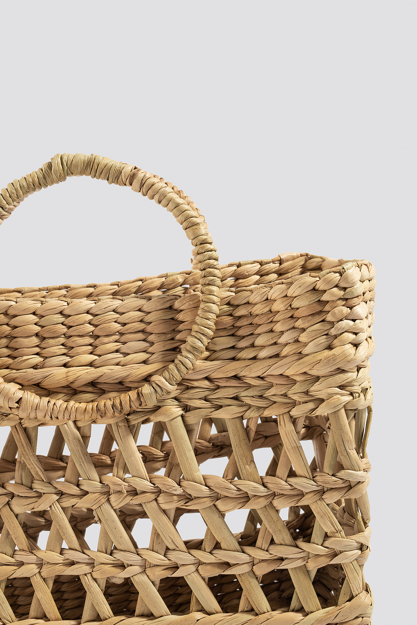 Squared Strawy Basket Bag NA-KD.COM