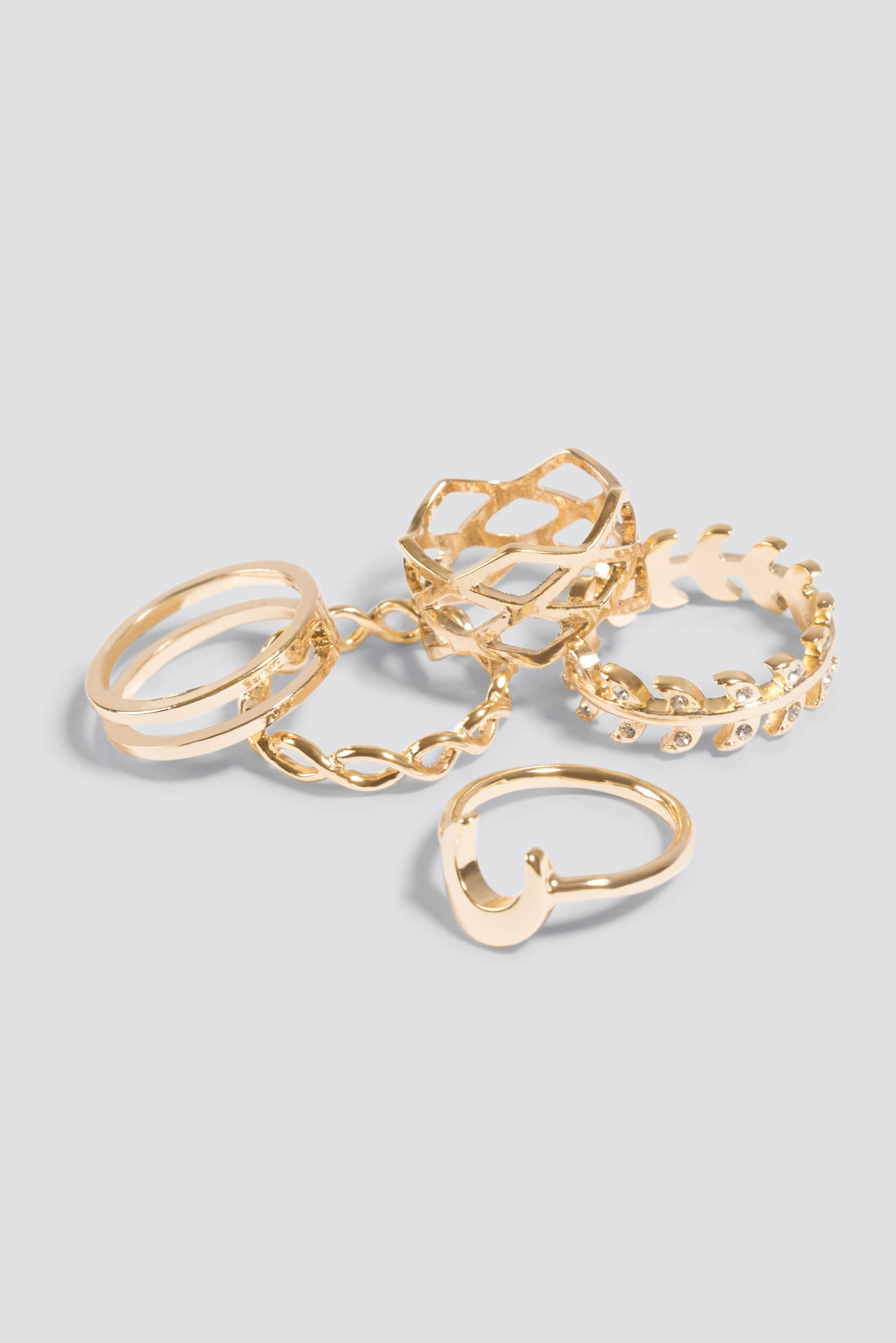 Stackable Variety Rings NA-KD.COM