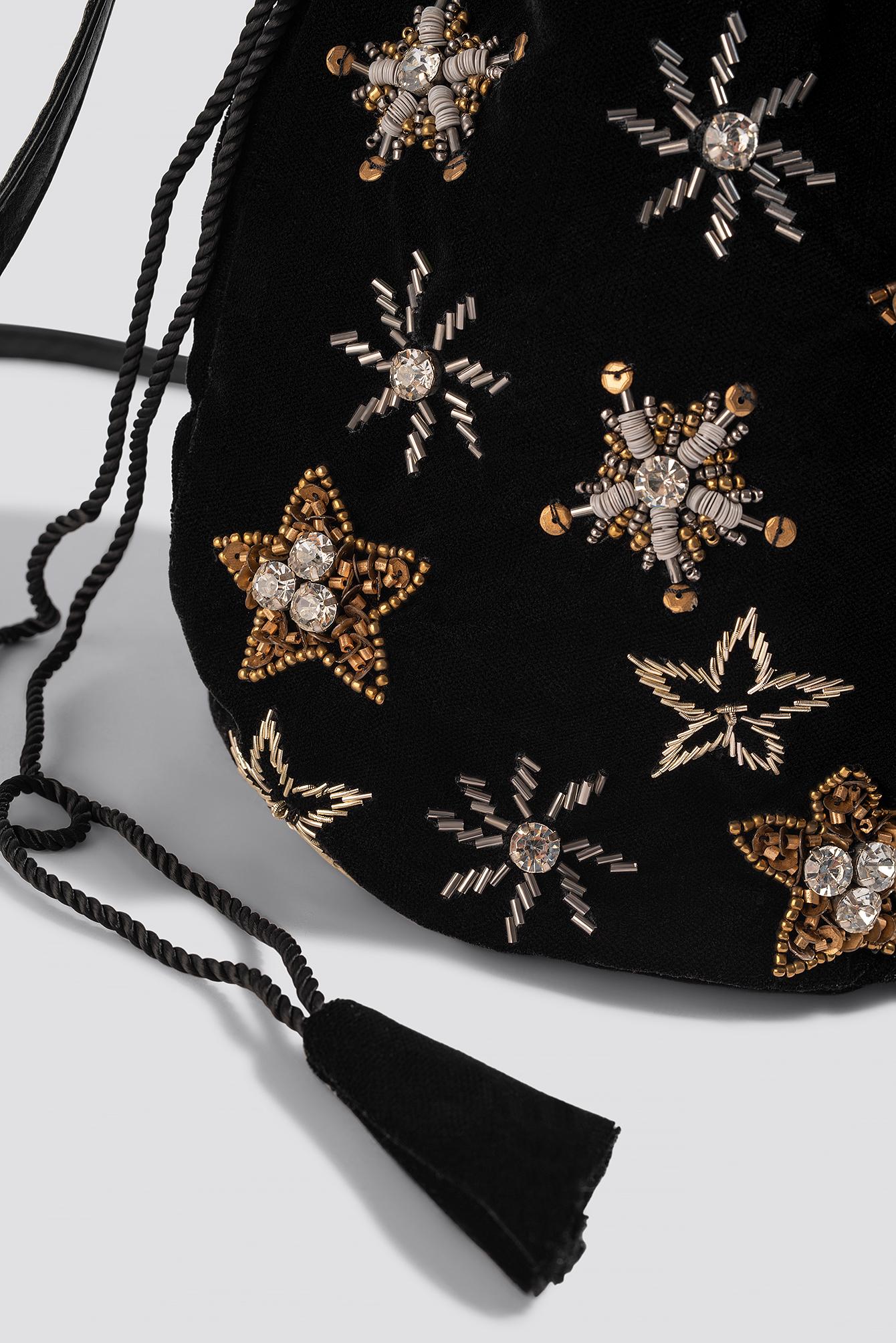 Star Embellished Pouch Bag NA-KD.COM