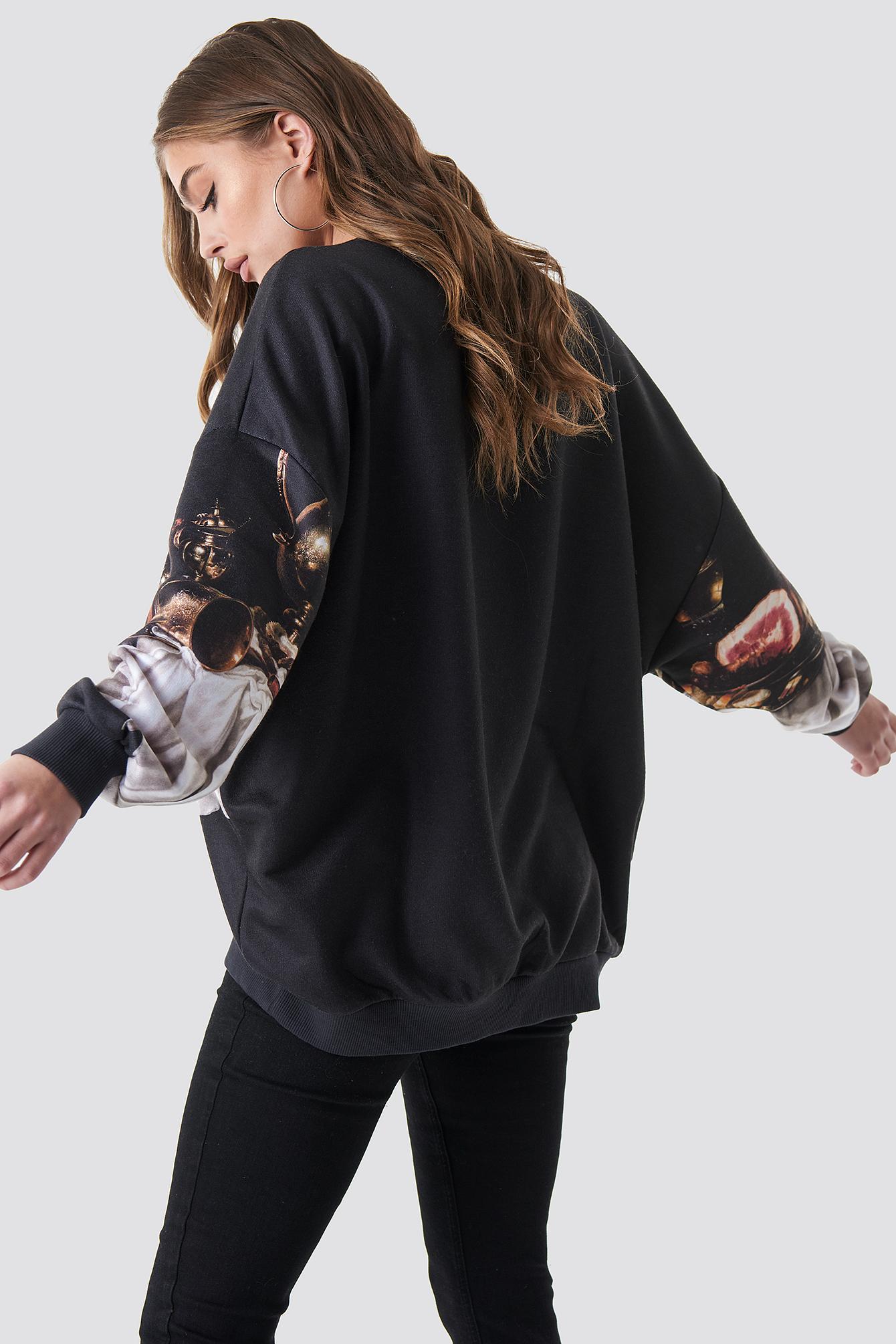 Still Life Batwing Sweatshirt NA-KD.COM