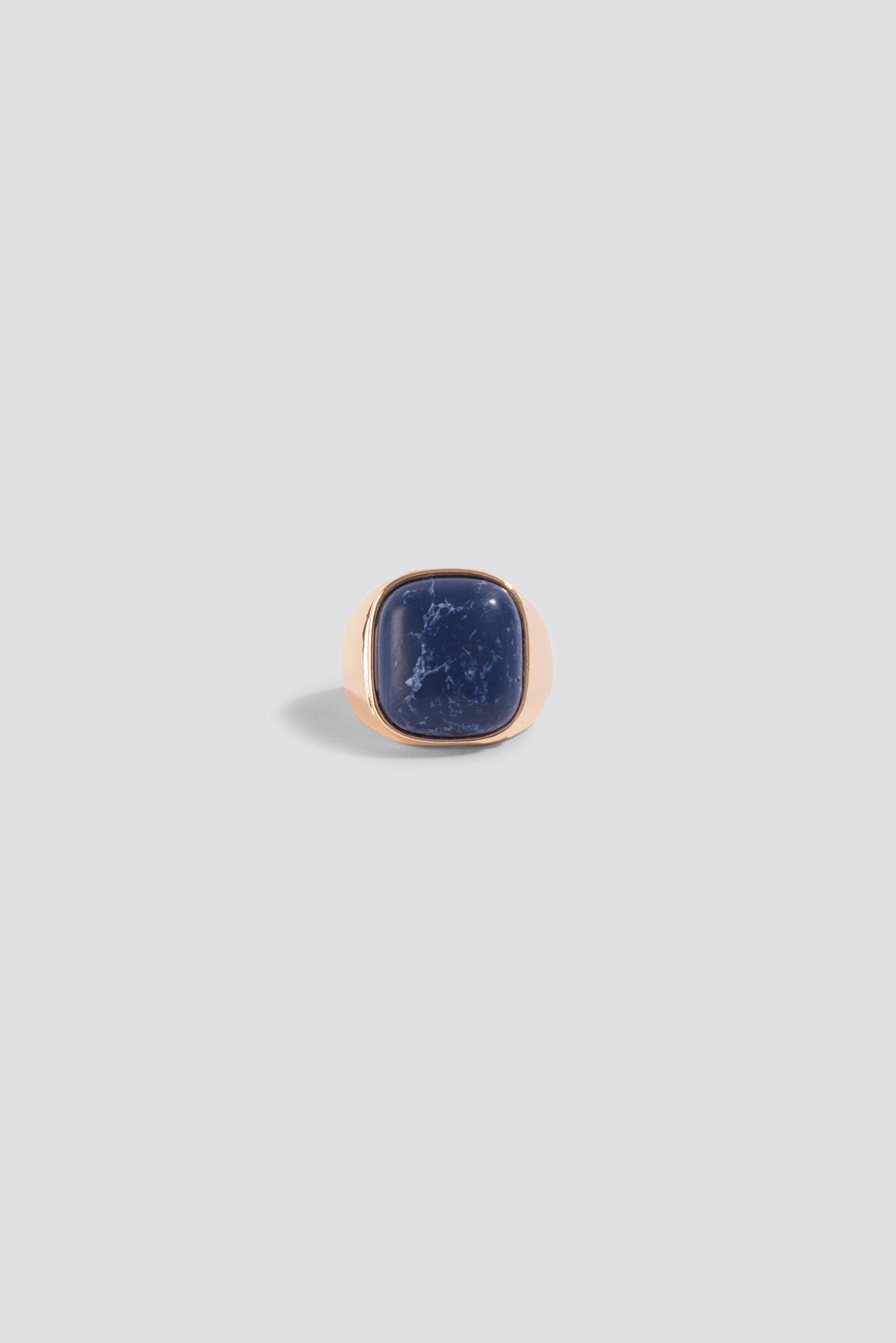 Stone Signet Ring NA-KD.COM