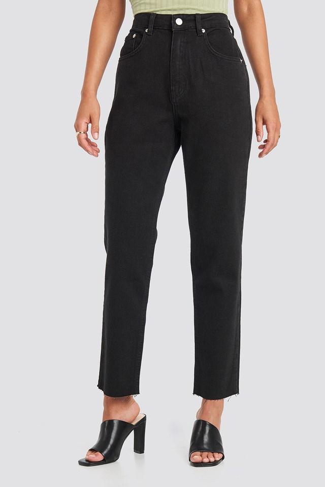 Straight Jeans Black