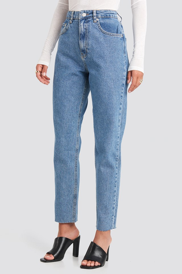 Straight Jeans Light Blue