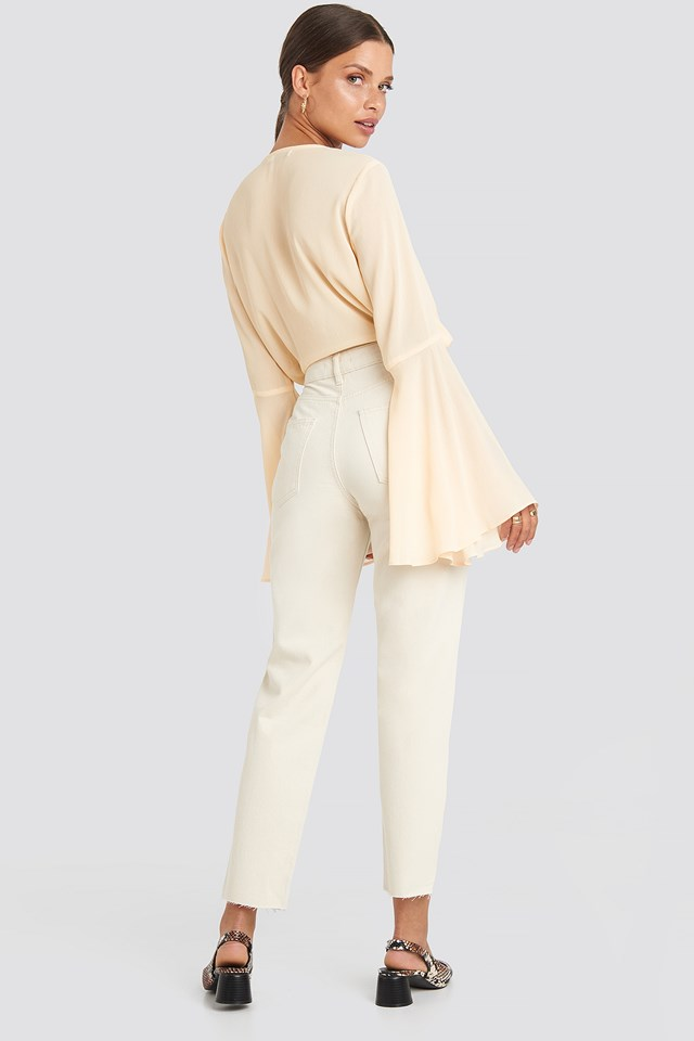 Straight Jeans Offwhite