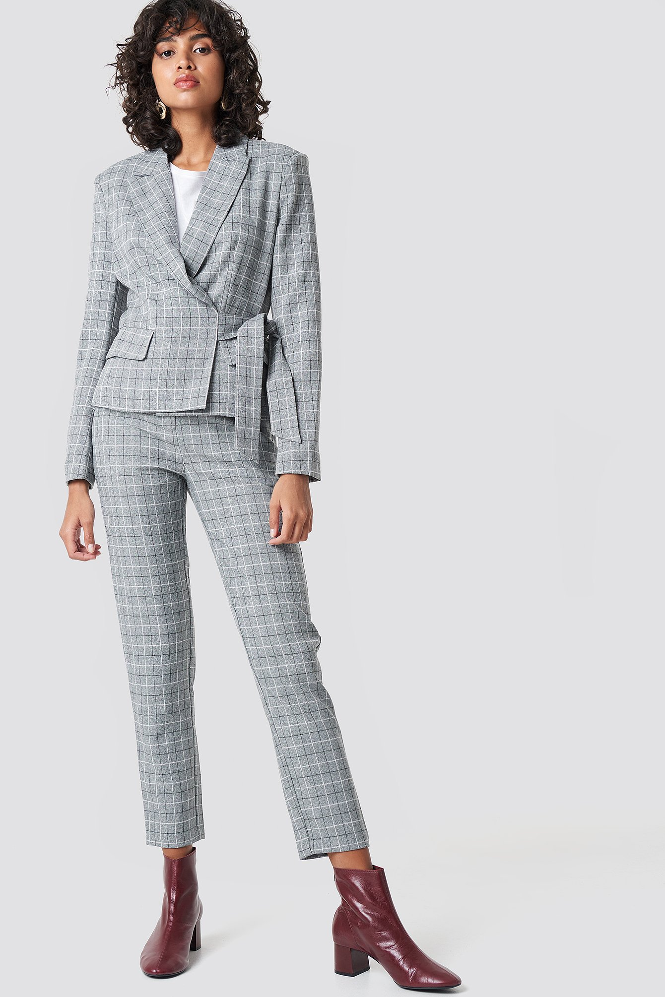 Straight Leg Suit Pants NA-KD.COM