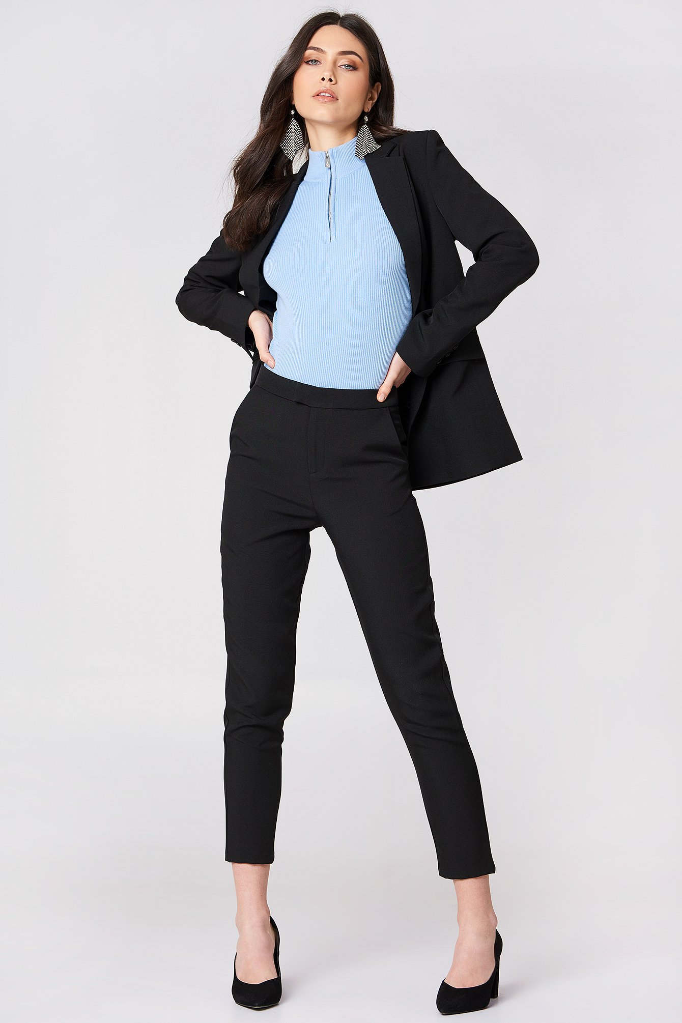 Straight Suit Pants NA-KD.COM