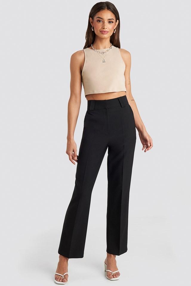 Straight Suit Pants Josefine Simone x NA-KD
