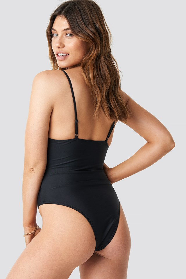 Straight Swimsuit Black