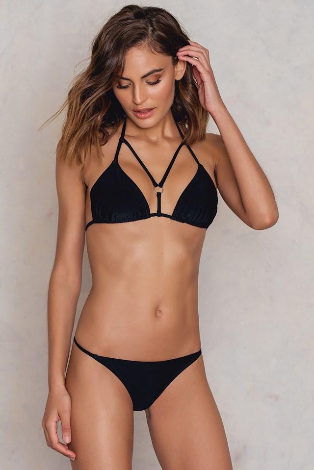 Góra bikini Triangle Black