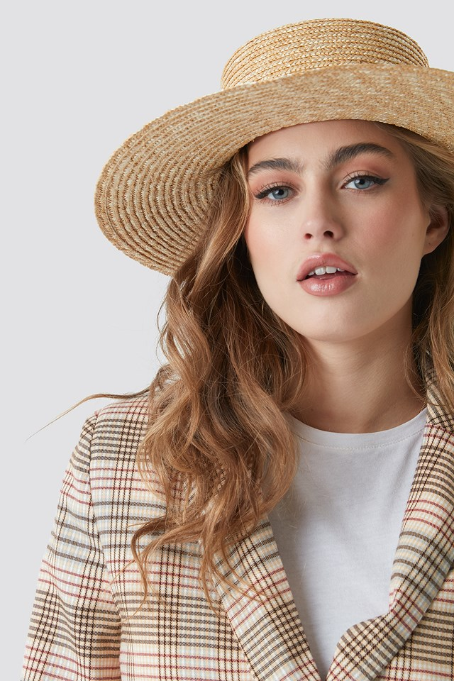 Straw Hat Beige