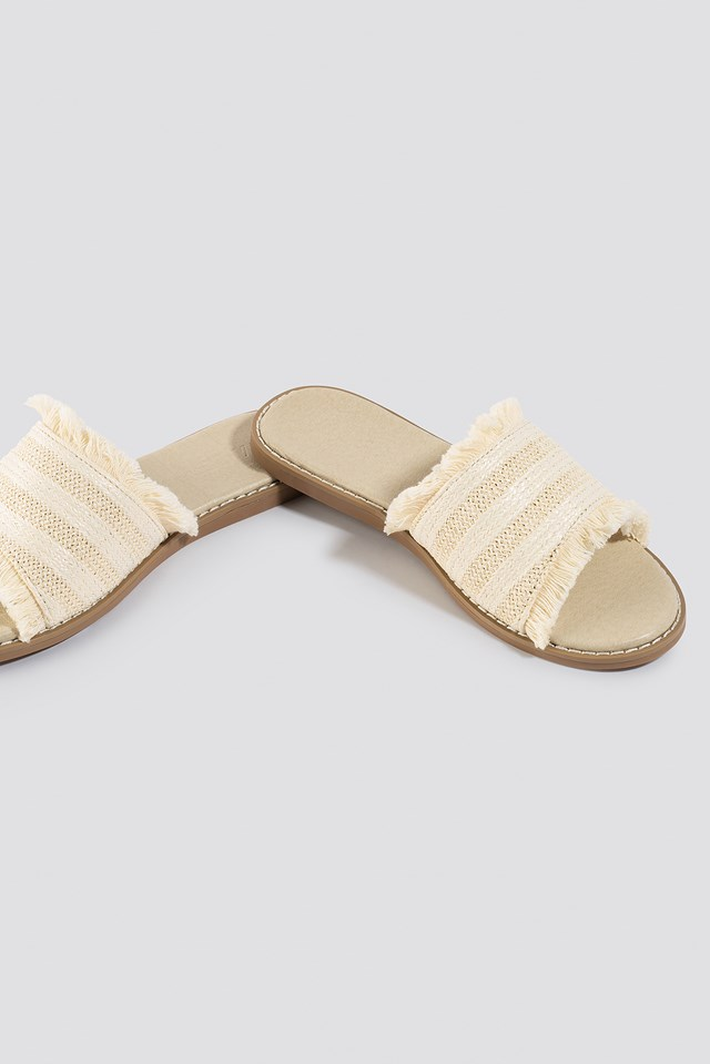 Strawy Sandals Natural