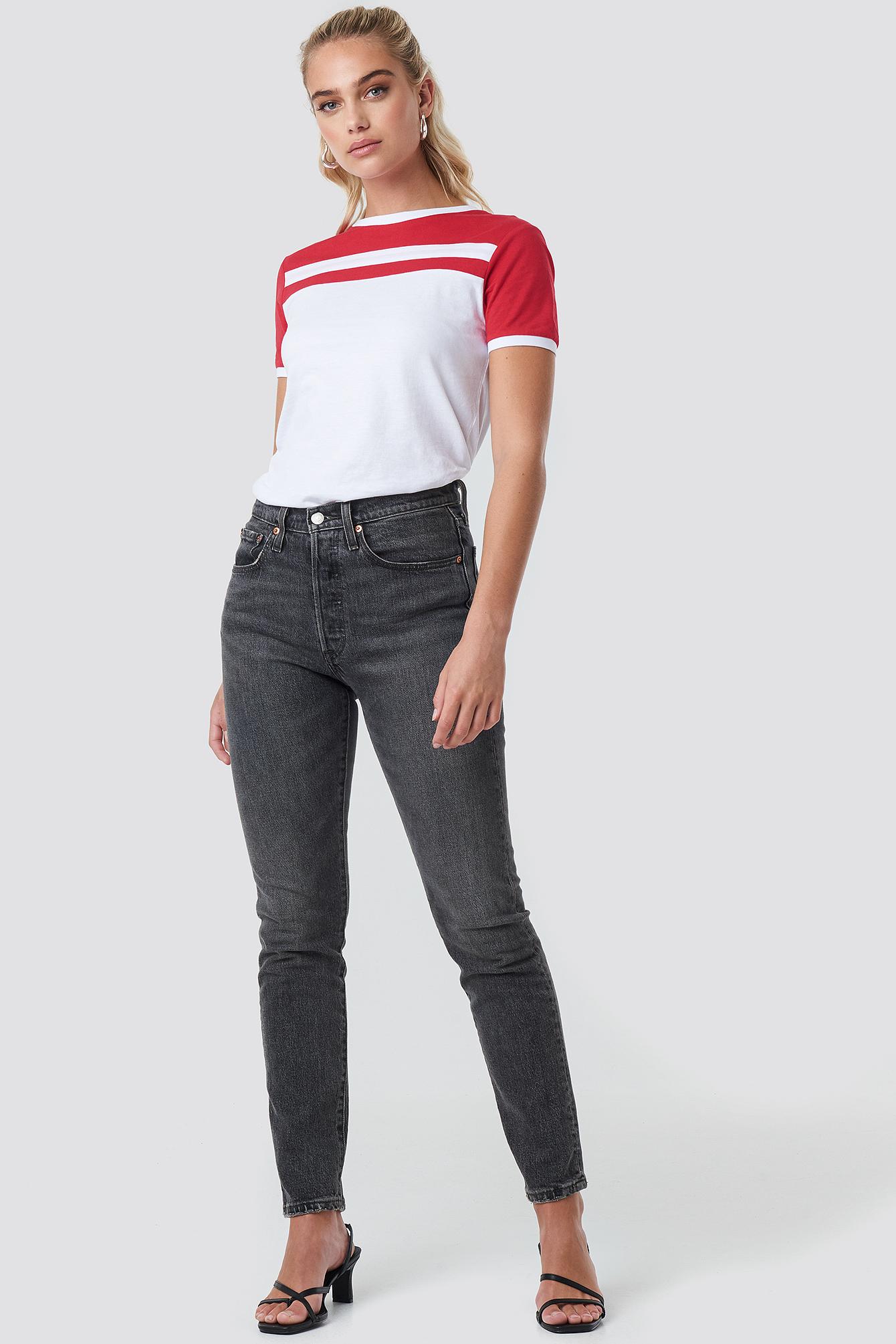 Stripe Ringer Tee NA-KD.COM