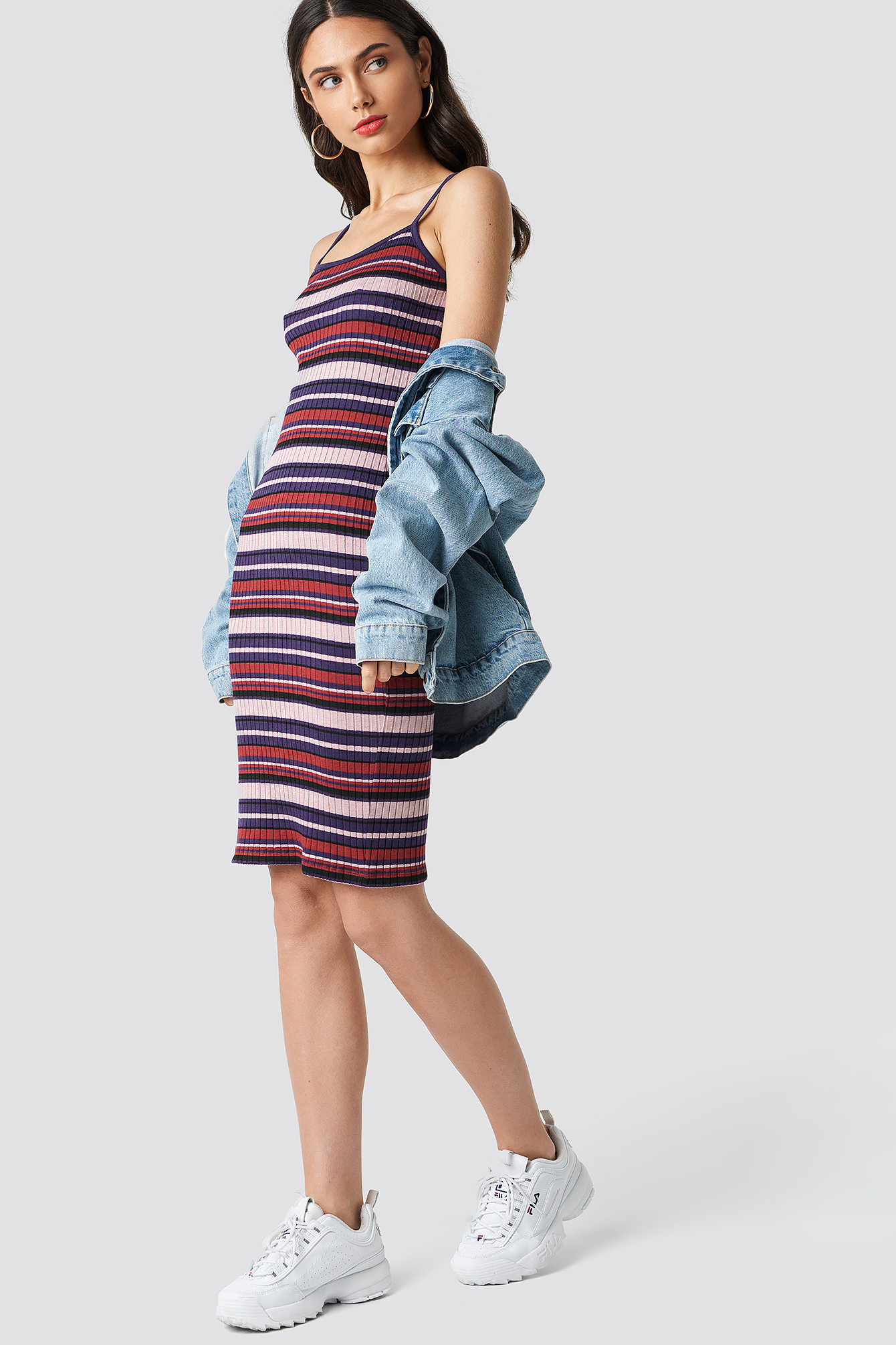 Striped Dress NA-KD.COM