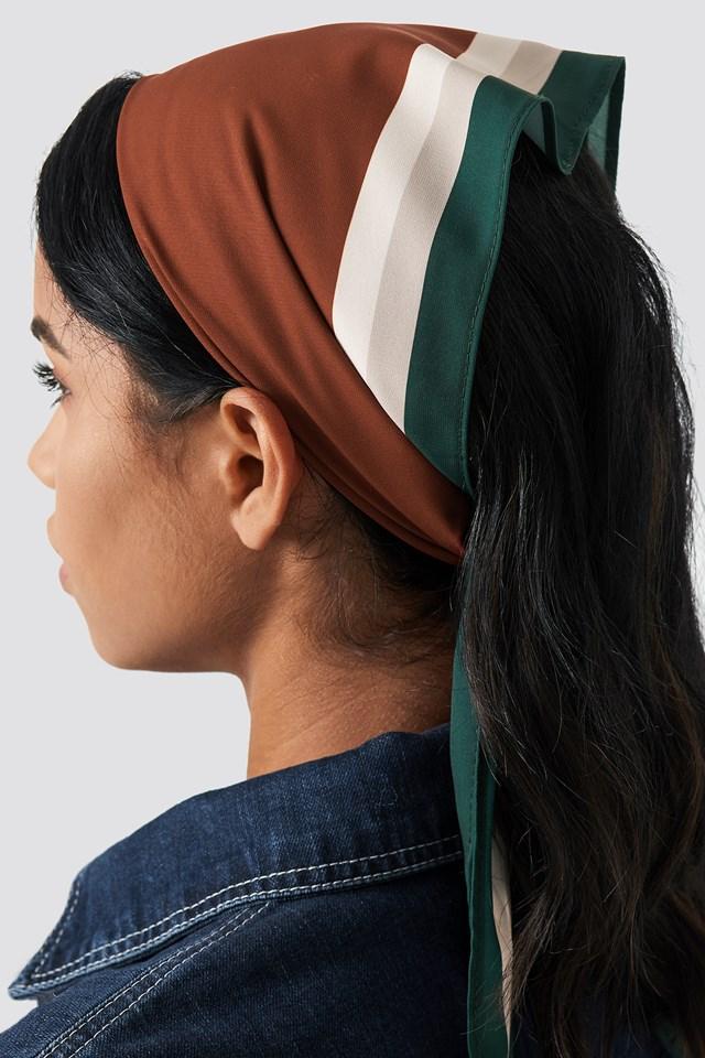 Striped Hair Scarf NA-KD.COM