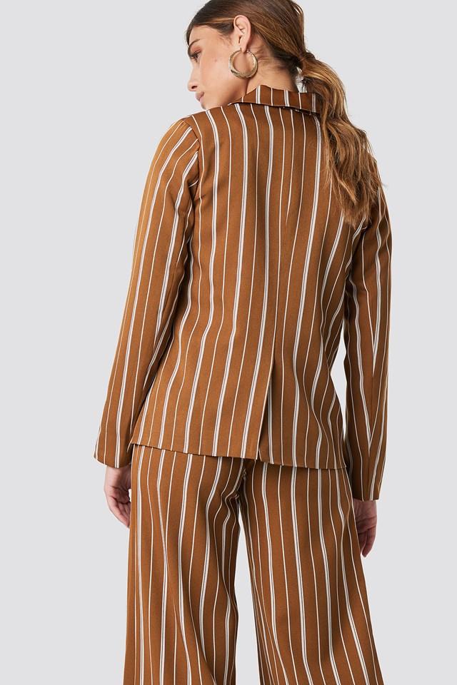 Striped Straight Blazer NA-KD.COM